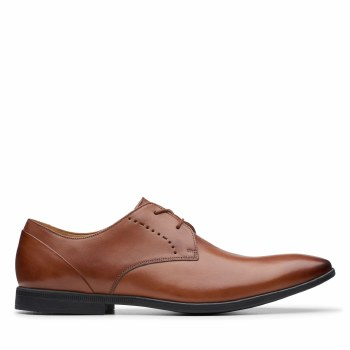 Clarks 'Bampton Lace' Mens Shoes (Tan)