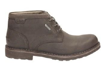 Clarks 'Lawes Mid GTX' Mens Boots (Dark Brown)