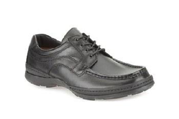 Clarks 'Line March' Mens Shoes (Black)