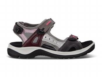 Ecco '822083' Ladies Sandals (Wine Multi)