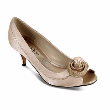 Lunar 'Ripley' Ladies Heels (Champagne)