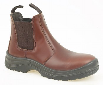 Grafters 'M123' Safety Boot (Brown)