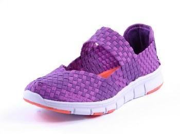 Heavenly Feet 'Mambo' Ladies Shoes (Purple)