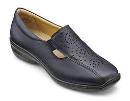 Hotter 'Calypso' Ladies Shoe (Navy)