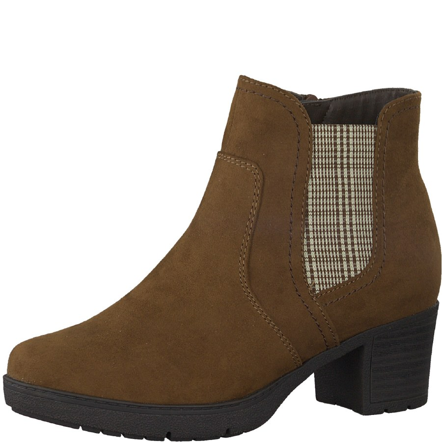 Jana '25469' Ladies Wide Ankle Boots