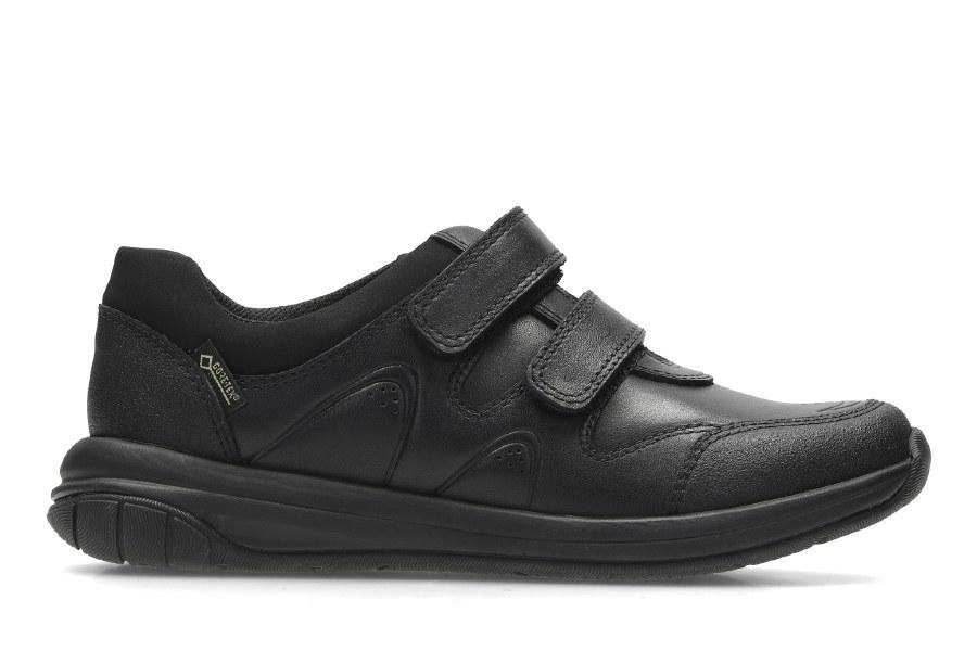 Clarks 'Hula Go GTX' Boys School Shoes