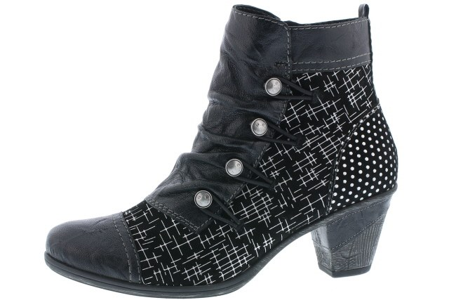 découvrir les dernières tendances profitez de la livraison gratuite prix pas cher Remonte 'D8792' Ladies Ankle Boots (Black)