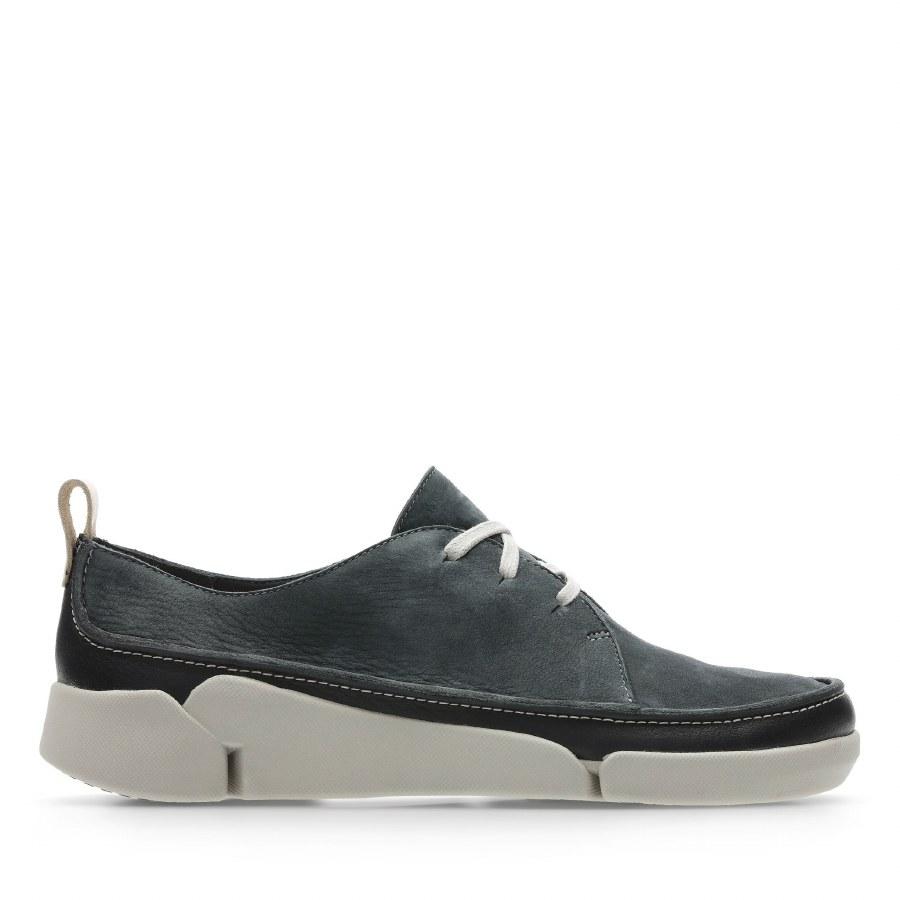 Clarks 'Tri Clara' Ladies Shoes (Dark