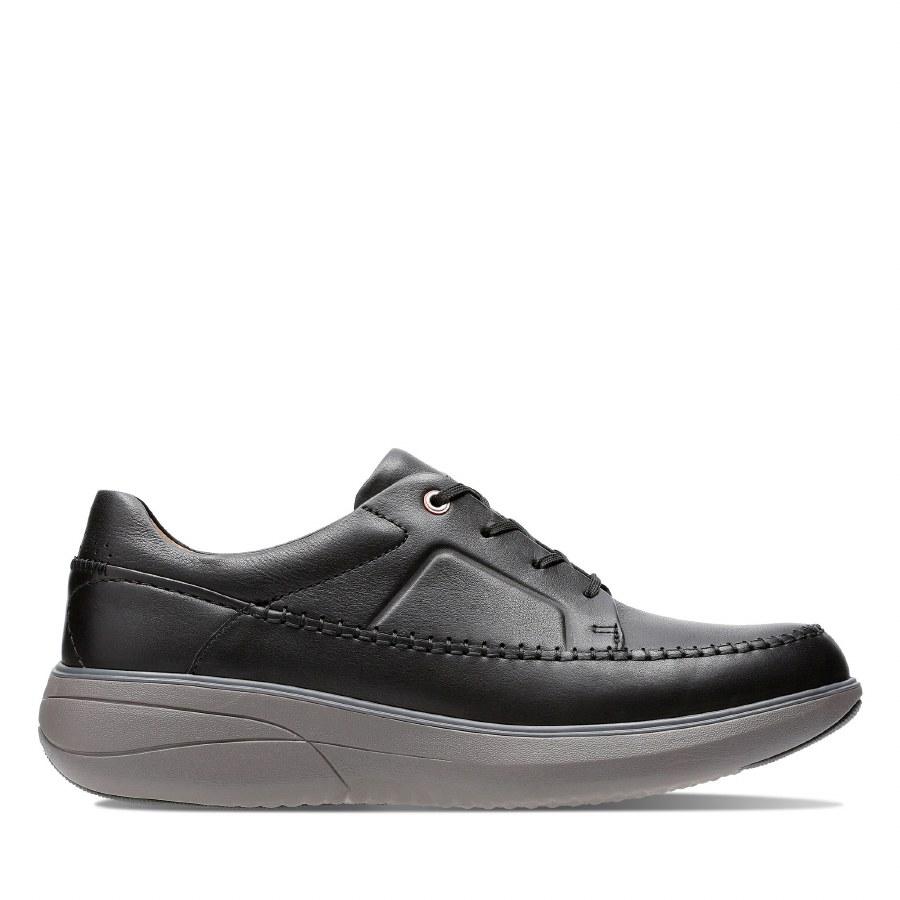 Clarks 'Un Rise Lace' Mens Shoes (Black