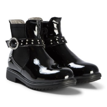 Lelli Kelly '3646' Girls Boots (Black Patent)