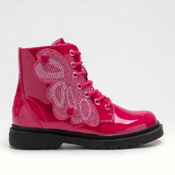 Lelli Kelly '4540' Girls Boots (Pink Patent)