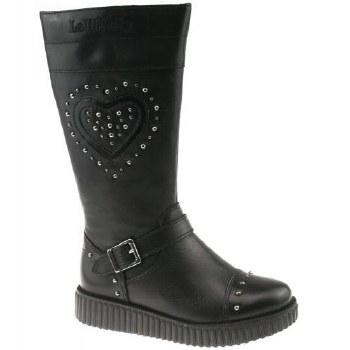 Lelli Kelly '6071' Girls Boots (Black)