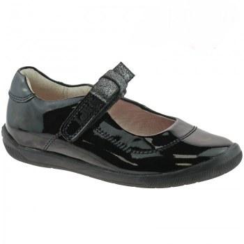 Lelli Kelly 'Lexis' Girls School Shoes (Black Patent)
