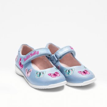 Lelli Kelly '9752' Girls Shoes (Blue Multi)