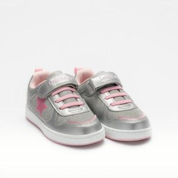 Lelli Kelly '9860' Girls Shoes (Silver)