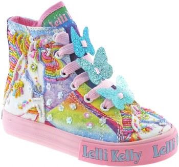Lelli Kelly '9090' Girls Boots (Blue Multi)