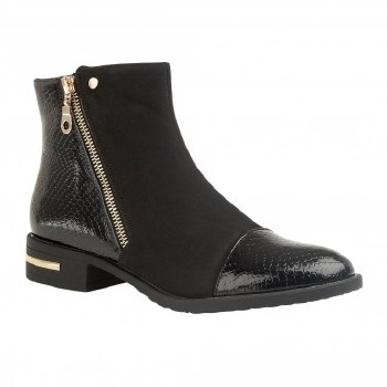 Lotus 'Coppice' Ladies Ankle Boots (Black)