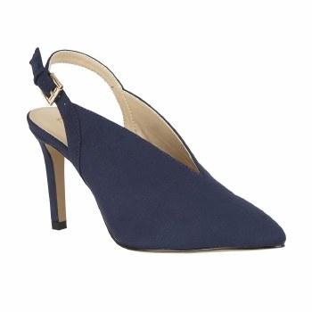 Lotus 'Isobel' Ladies Heels (Navy)
