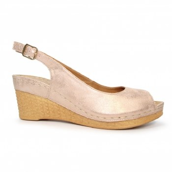 Lunar 'Annie' Ladies Sandals (Rose)