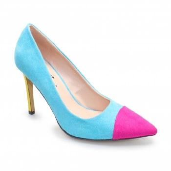 Lunar 'Eliza' Ladies Heels (Fuchsia)
