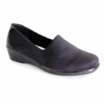 Lunar 'Nicky' Ladies Shoes (Black)