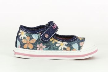 Pablosky '961420' Girls Shoes (Navy Floral)