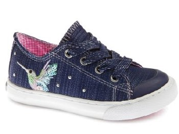 Pablosky '962820' Girls Shoes (Navy Glitter)