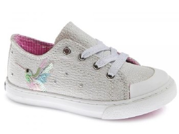 Pablosky '962850' Girls Shoes (Silver Glitter)