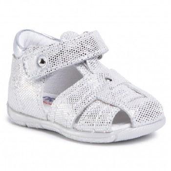 Primigi 'Smile' Girls Sandals (Silver)