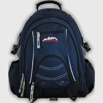 Ridge 53 'Bolton' Childrens School Bag (Navy/White)