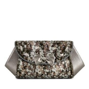 Ruby Shoo 'Palma' Ladies Clutch Bag (Pewter)