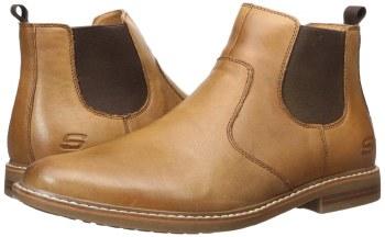 Skechers 'Bregman - Morago' Mens Boots (Tan)