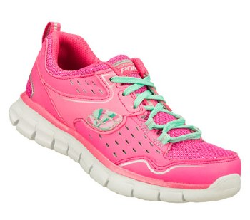 Skechers 'Synergy- A Lister' Girls Trainers (Pink)