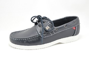 Susst 'Gaby' Deck Shoe (Navy)
