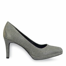 Tamaris '22446' Ladies Heels (Platinum)