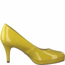 Tamaris '22444' Ladies Heels (Saffron Patent)