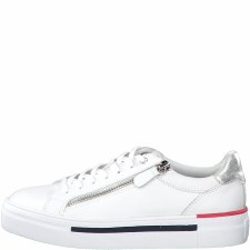 Tamaris '23312' Ladies Shoes (White Combi)