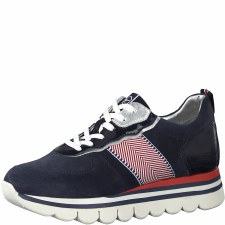 Tamaris '23747' Ladies Shoes (Navy Combi)