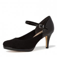 Tamaris '24402' Ladies Heels (Black)