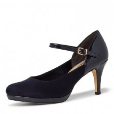 Tamaris '24402' Ladies Heels (Navy)