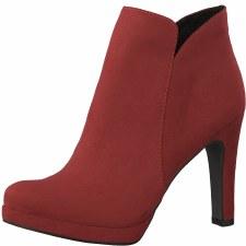Tamaris '25316' Ladies Ankle Boots (Lipstick)