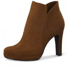 Tamaris '25316' Ladies Ankle Boots (Brandy)