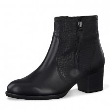 Tamaris '25326' Ladies Ankle Boots (Black)