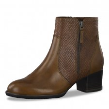 Tamaris '25326' Ladies Ankle Boots (Cognac)