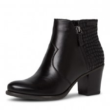 Tamaris '25338' Ladies Ankle Boots (Black)
