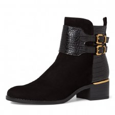 Tamaris '25344' Ladies Ankle Boots (Black)