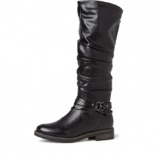 Tamaris '25548' Ladies Long Boots (Black)