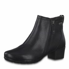 Jana '25307' Ladies Wide Fitting Ankle Boots (Black)