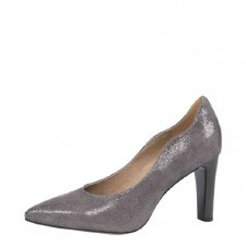 Caprice '22402' Ladies Heels (Grey Reptile)