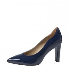 Caprice '22402' Ladies Heels (Navy Patent)